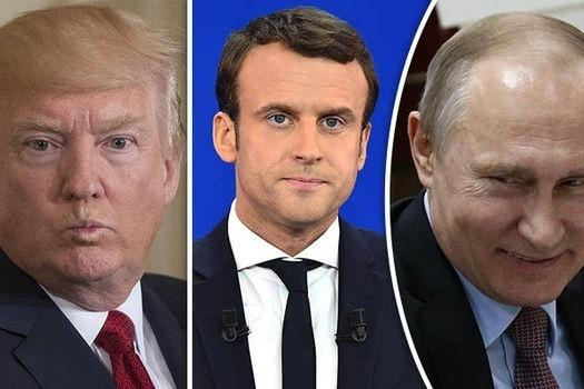 """Fransa prezidenti Qarabağdakı vəziyyəti Tramp və Putinlə müzakirə edəcək<b style=""""color:red""""></b>"""