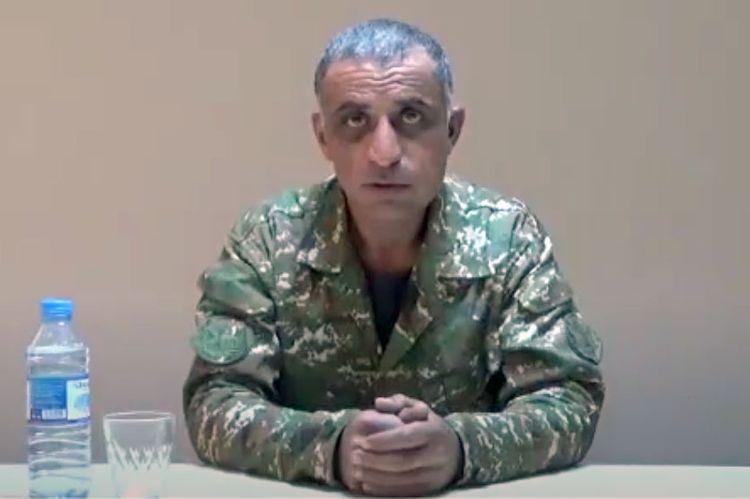 """Ordumuza təslim olan mayor erməni xalqına müraciət etdi - <b style=""""color:red"""">Video</b>"""
