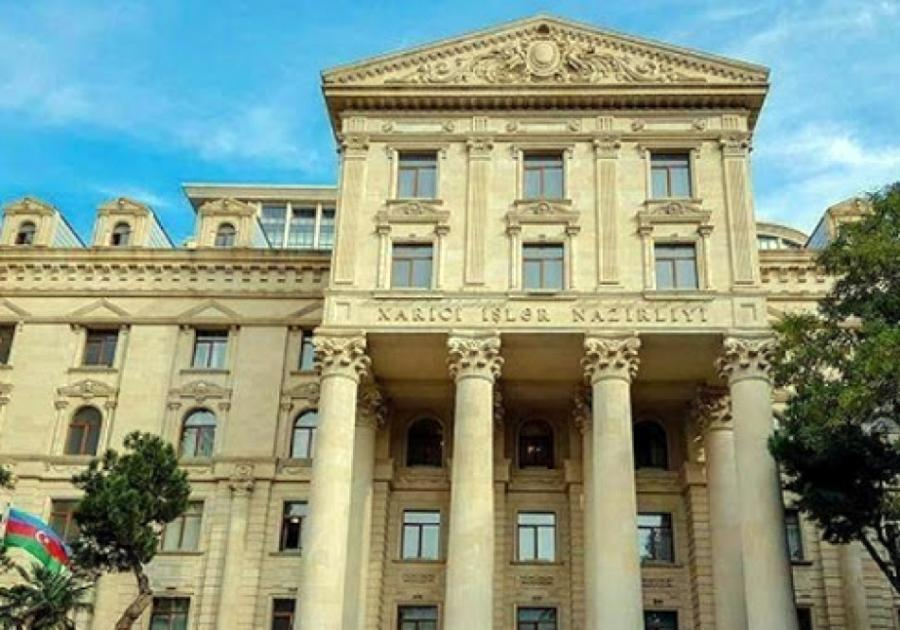 """XİN: """"Beynəlxalq ictimaiyyəti Ermənistanın vandalizm aktını pisləməyə çağırırıq""""<b style=""""color:red""""></b>"""