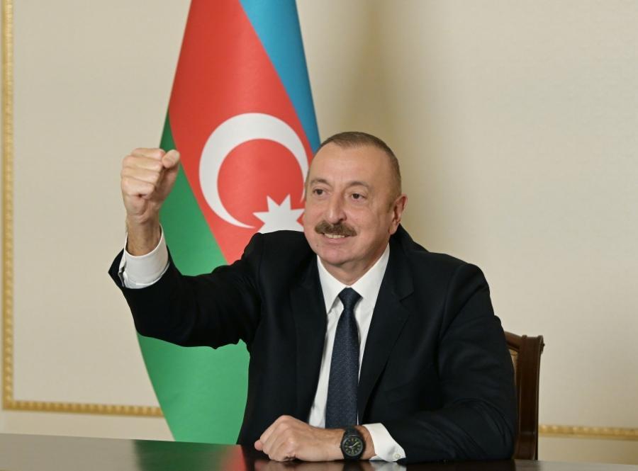 """""""30 ilin əzabları xalqımızı sındırmadı"""" - <b style=""""color:red"""">Ali Baş Komandan </b>"""
