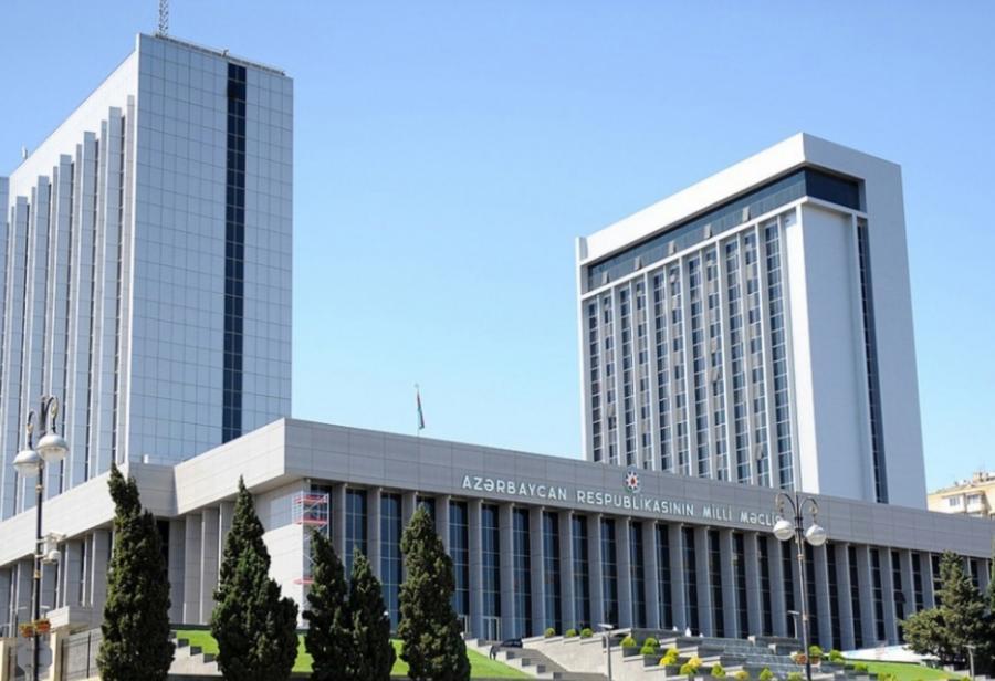 """Milli Məclisin plenar iclasının vaxtı və gündəliyi <b style=""""color:red""""></b>"""