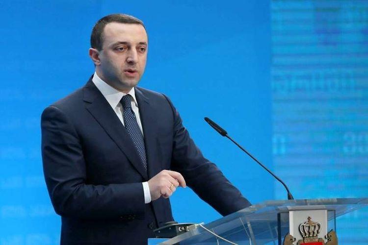 """İrakli Qaribaşvili ikinci dəfə Gürcüstanın Baş naziri seçildi<b style=""""color:red""""></b>"""