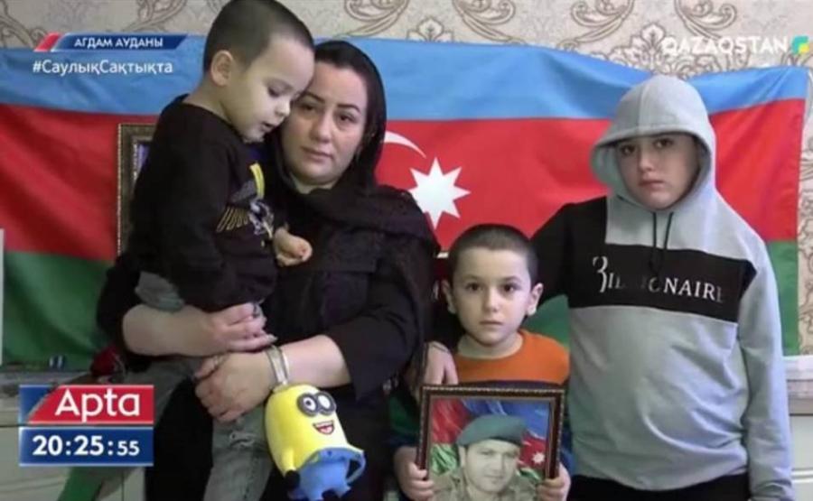 """Qazaxıstan dövlət televiziyası işğaldan azad olunmuş ərazilərdən reportaj yayımladı<b style=""""color:red""""></b>"""