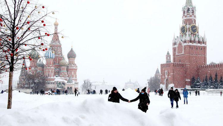 """Moskvada qışın ən soyuq temperaturu qeydə alınıb<b style=""""color:red""""></b>"""