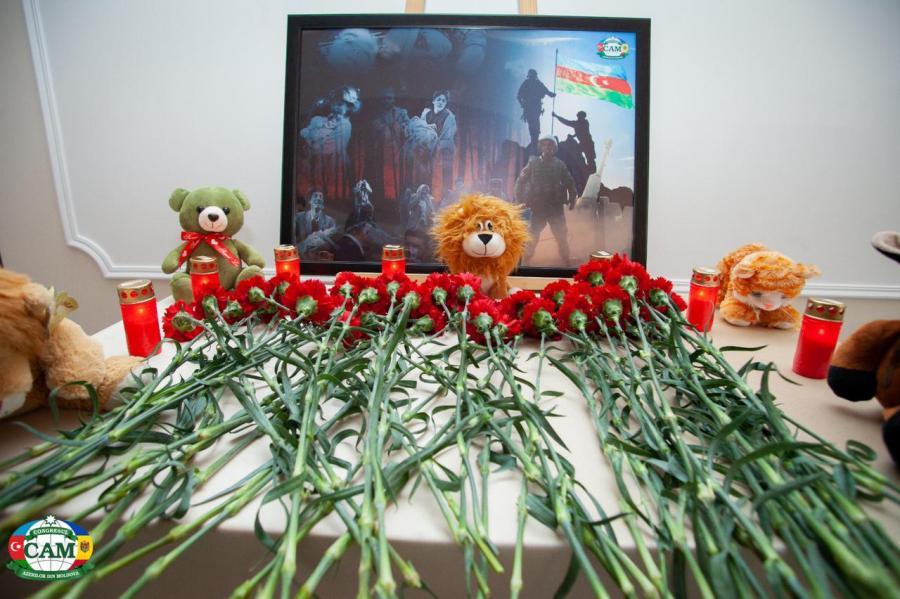 """Moldovada Xocalı soyqırımının 29-cu ildönümü ilə bağlı anım tədbir keçirildi<b style=""""color:red""""></b>"""