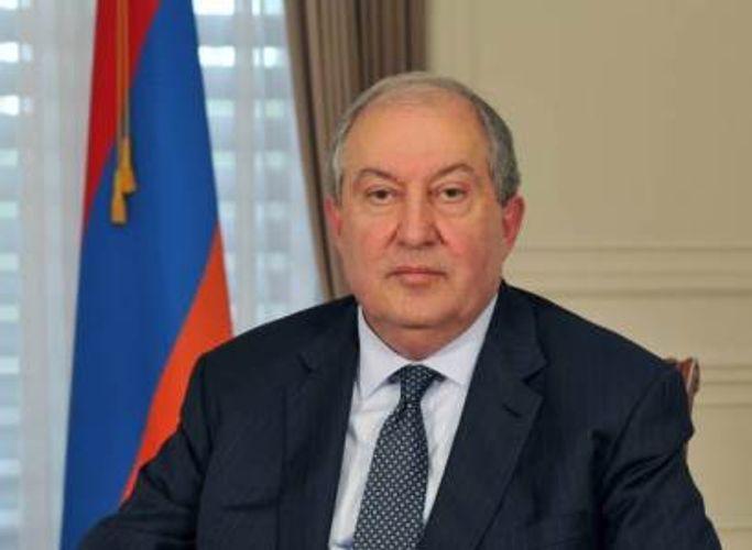 """Ermənistan Prezidenti Baş Nazirin qərarını geri qaytardı <b style=""""color:red""""></b>"""
