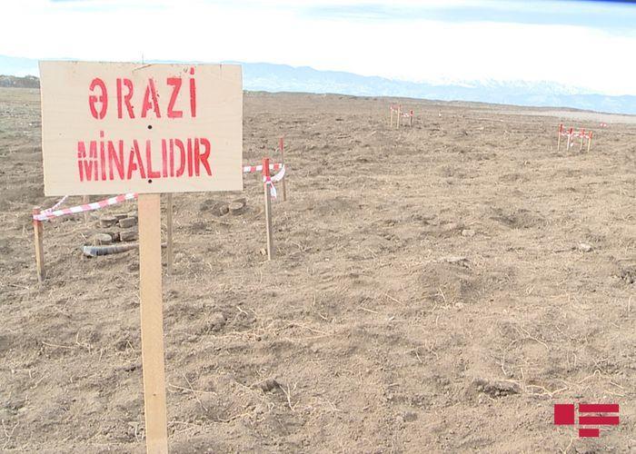 """Ağdamda Ermənistan istehsalı olan minalar aşkarlanıb<b style=""""color:red""""></b>"""