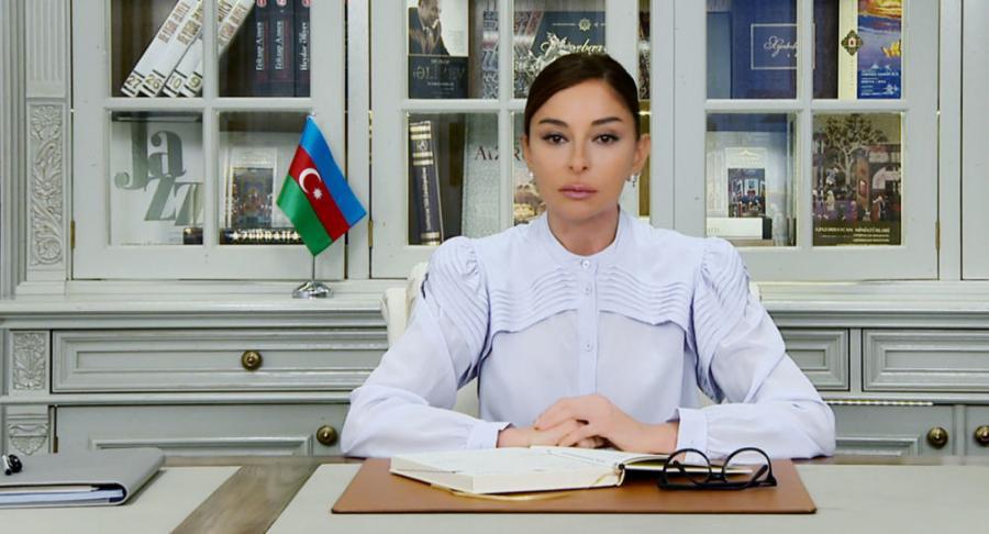 """Mehriban Əliyevadan bayram təbriki - <b style=""""color:red""""> Foto</b>"""