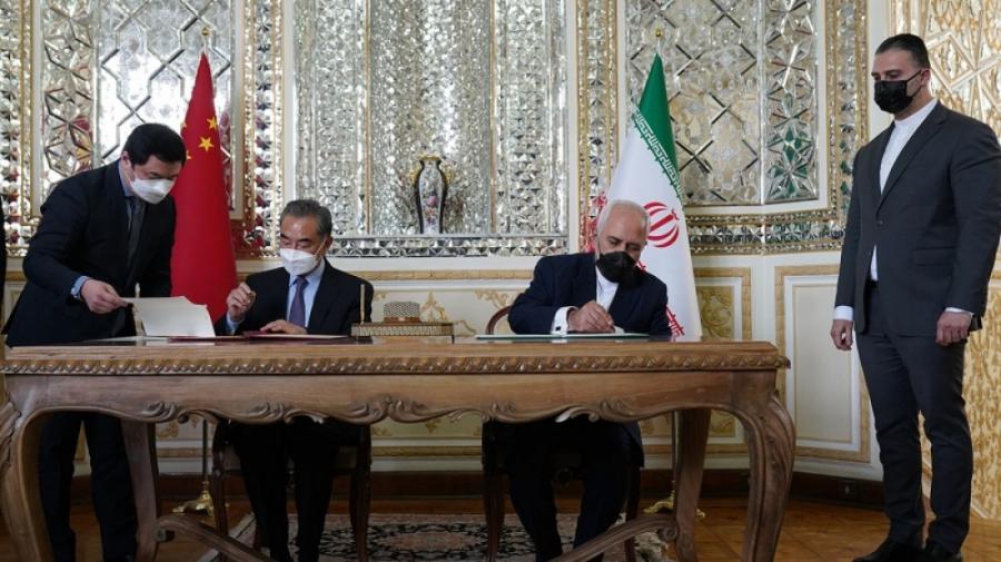 """Çin ilə İran arasında strateji əməkdaşlıq haqqında sənəd imzalanıb<b style=""""color:red""""></b>"""