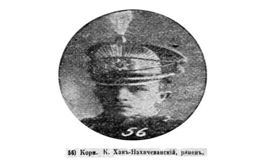 """General III Kalbalı xan Naxçıvanski: <b style=""""color:red"""">1918-1920-ci illərdəki döyüşlər</b>"""