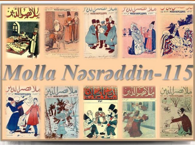 """Milli Kitabxanada """"Molla Nəsrəddin – 115"""" adlı sərgi təqdim olunub<b style=""""color:red""""></b>"""