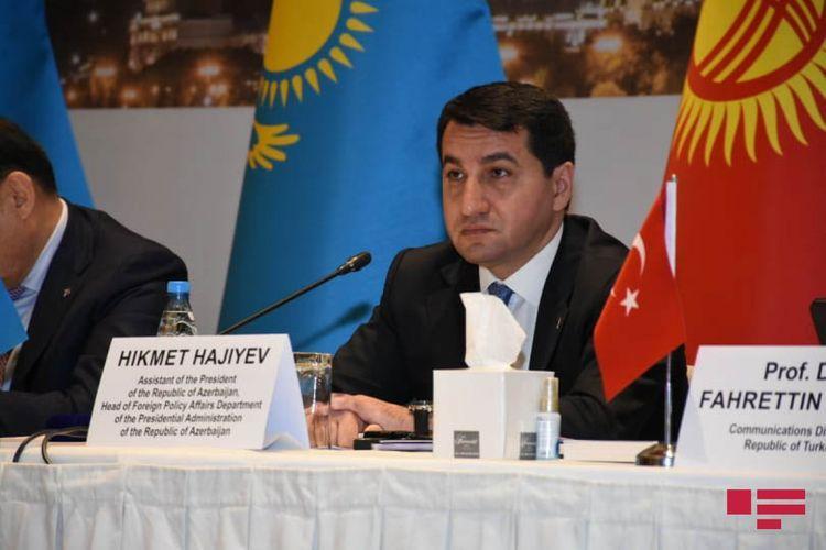 """""""""""Media haqqında qanun"""" layihəsi hazırlanıb"""" - <b style=""""color:red"""">Hikmət Hacıyev</b>"""
