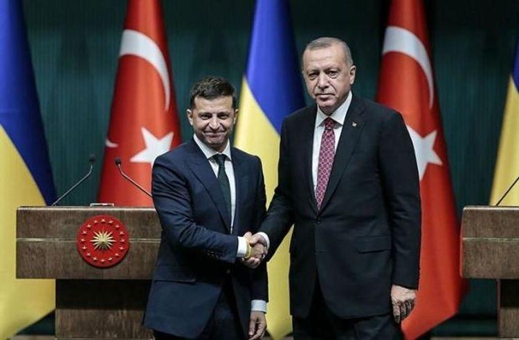 """""""Türkiyə ilə ortaq maraqlarımız var"""" - <b style=""""color:red"""">Zelenski</b>"""