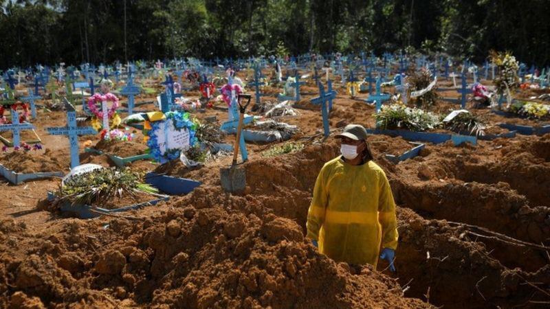 """Brazilyada koronavirus səbəbilə ölüm sayı yenidən artdı <b style=""""color:red""""></b>"""