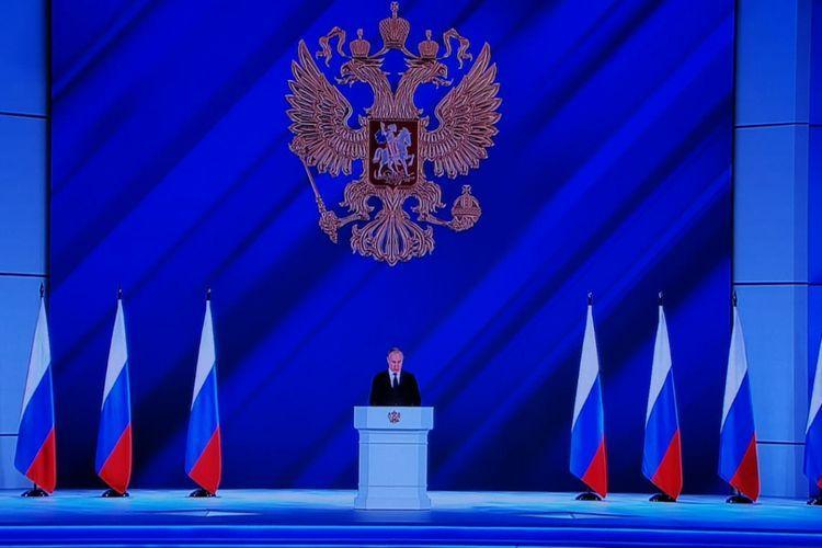 """Putinin Federal Məclisə müraciəti başlayıb<b style=""""color:red""""></b>"""