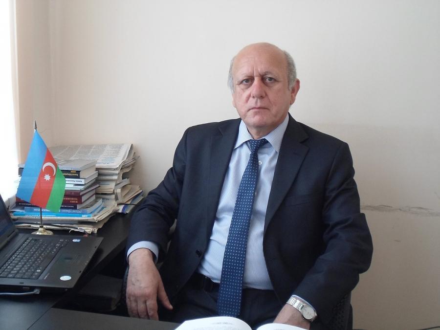 """Azərbaycan dilçiliyində seçilən imza - <b style=""""color:red"""">professor Məsud Mahmudov</b>"""