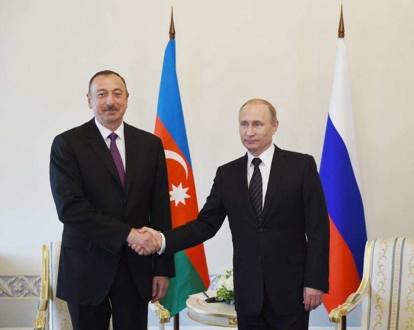 """Putin Azərbaycan Prezidentinə zəng etdi<b style=""""color:red""""></b>"""