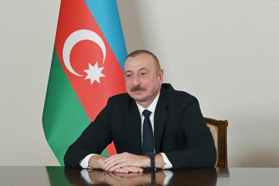 """Prezident Azərbaycan xalqını təbrik edib<b style=""""color:red""""></b>"""