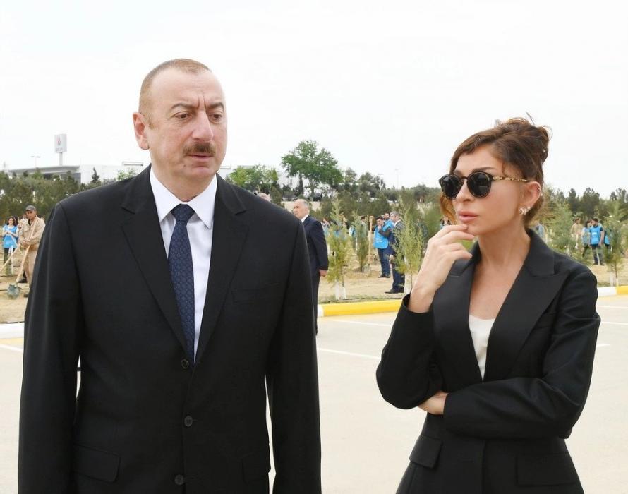"""İlham Əliyev və xanımı Tatarıstan Prezidentinə başsağlığı verib<b style=""""color:red""""></b>"""