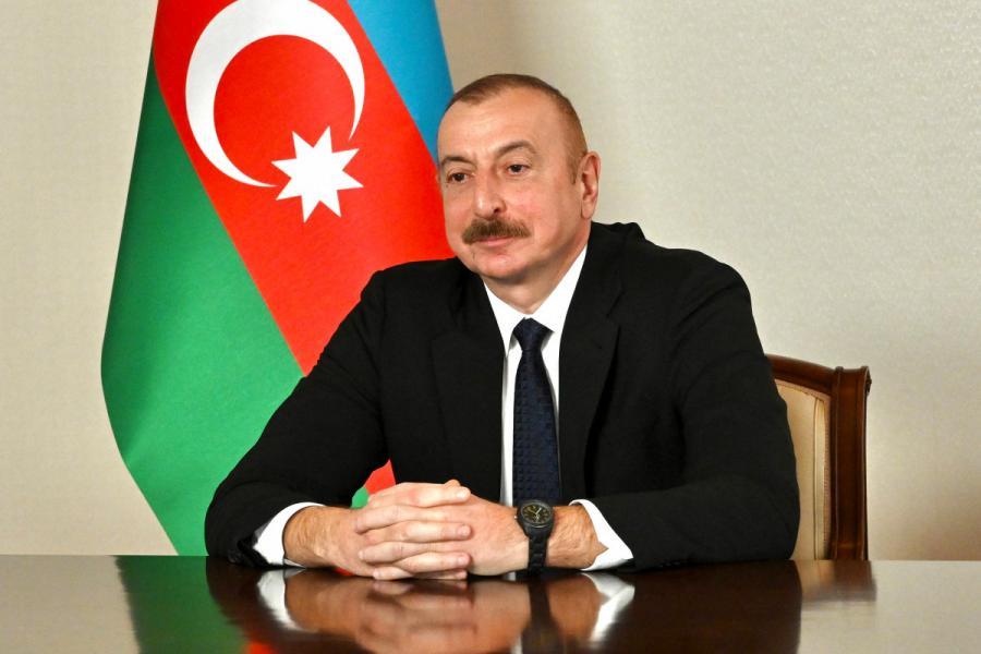 """İlham Əliyev: """"""""Xarıbülbül"""" festivalı Şuşada hər il keçiriləcək""""<b style=""""color:red""""></b>"""