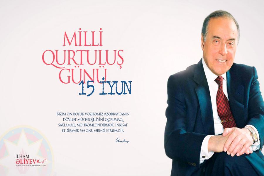 """Prezident Qurtuluş Günü ilə bağlı paylaşım edib<b style=""""color:red""""></b>"""