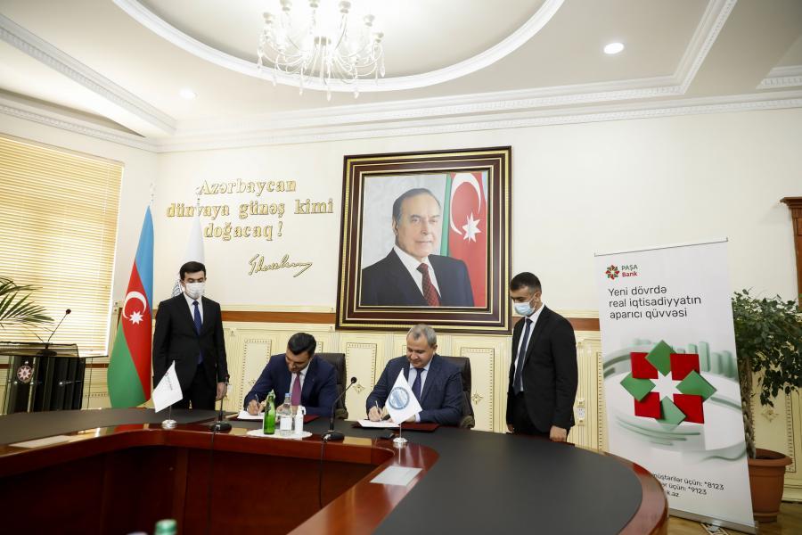 """PAŞA Bank ilə BDU arasında əməkdaşlığa dair memorandum imzalanıb<b style=""""color:red""""></b>"""