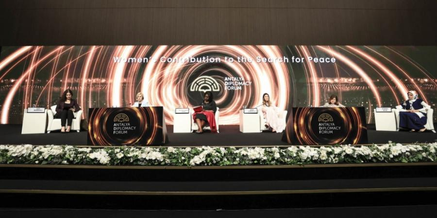 """Günay Əfəndiyeva """"Antalya Diplomasi Forumu""""nda iştirak edib<b style=""""color:red""""></b>"""