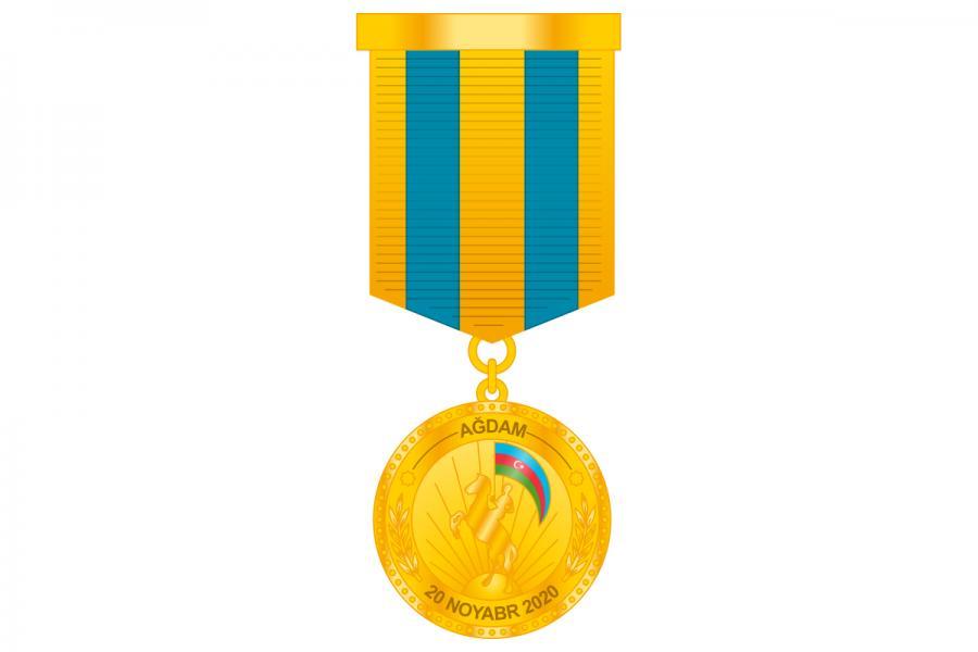 """Hərbçilər """"Ağdamın azad olunmasına görə"""" medalı ilə təltif edilib<b style=""""color:red""""></b>"""