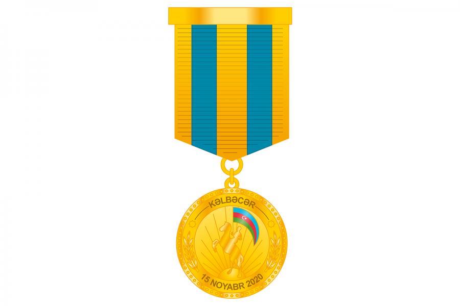 """Hərbi qulluqçular """"Kəlbəcərin azad olunmasına görə"""" medalı ilə təltif ediliblər<b style=""""color:red""""></b>"""