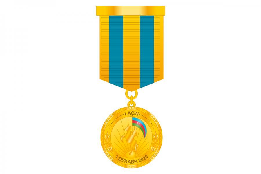 """Hərbçilər """"Laçının azad olunmasına görə"""" medalı ilə təltif edilib<b style=""""color:red""""></b>"""