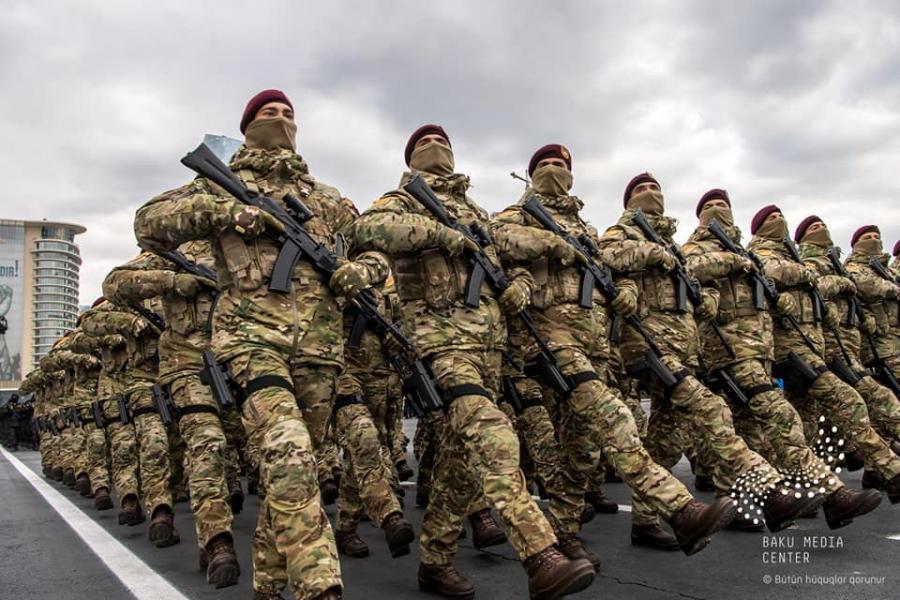 """Silahlı Qüvvələrin bir qrup hərbi qulluqçusu təltif edildi<b style=""""color:red""""></b>"""