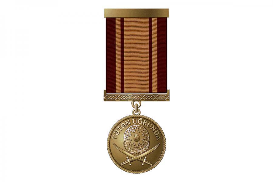 """Bir qrup hərbçi """"Vətən uğrunda"""" medalı ilə təltif edilib<b style=""""color:red""""></b>"""