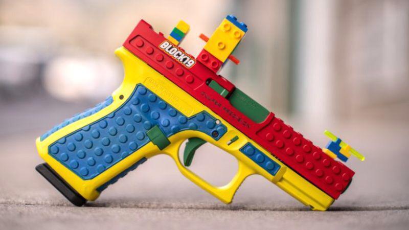 """Oyuncağa bənzər silah istehsal edildi<b style=""""color:red""""></b>"""
