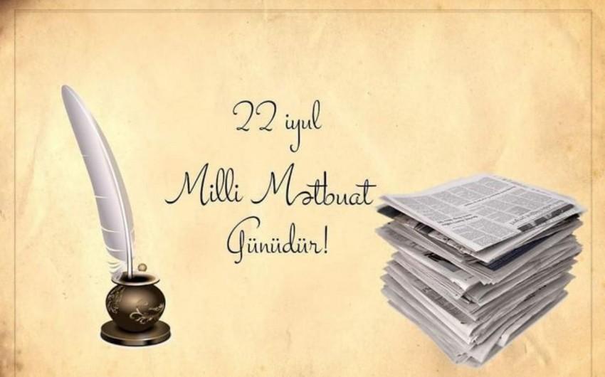 """Bu gün Azərbaycanda Milli Mətbuat Günüdür<b style=""""color:red""""></b>"""