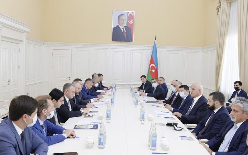 """Şahin Mustafayev Rusiyanın iqtisadi inkişaf nazirinin müavini ilə görüşüb<b style=""""color:red""""></b>"""