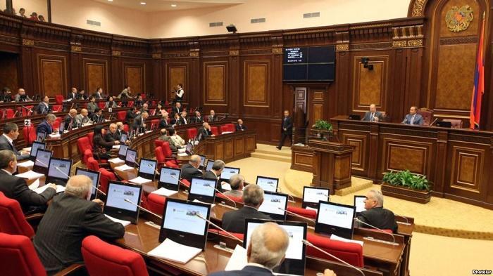 Ermənistanın yeni parlamentinin ilk iclas başlayıb