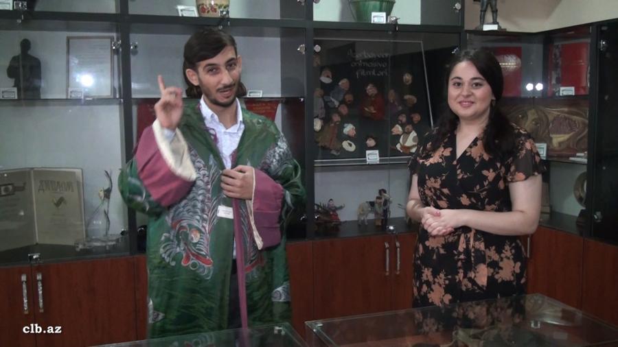 Oxuculara Milli Kino Gününə həsr olunmuş video material təqdim edilib - Foto