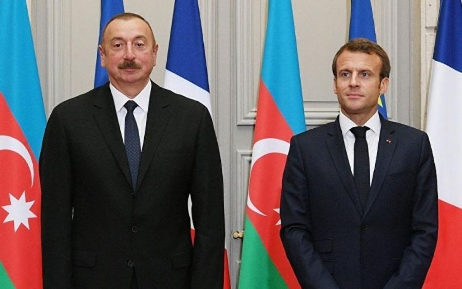 Emmanuel Makron Prezident İlham Əliyevə zəng edib