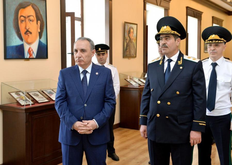 Baş prokuror Kamran Əliyev Naxçıvana işgüzar səfər edib