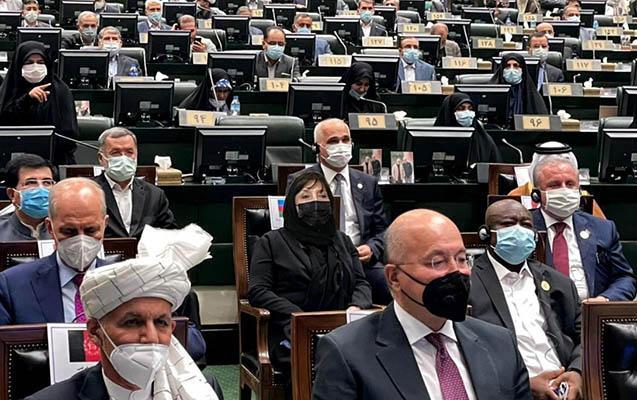 Sahibə Qafarova İran Prezidentinin andiçmə mərasimində iştirak edib