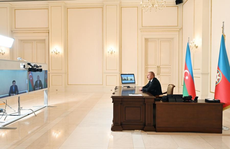 "Prezident yeni naziri qəbul etdi <b style=""color:red""> </b>"
