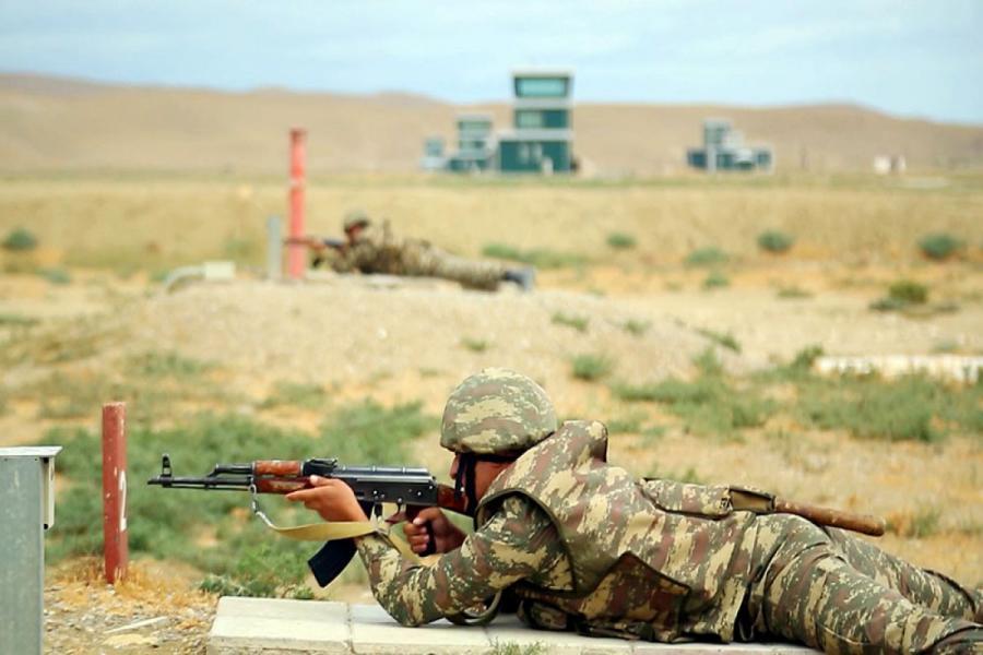 """Azərbaycan Ordusunda MAXE-lərin toplanışı başlayıb -<b style=""""color:red""""> Video</b>"""