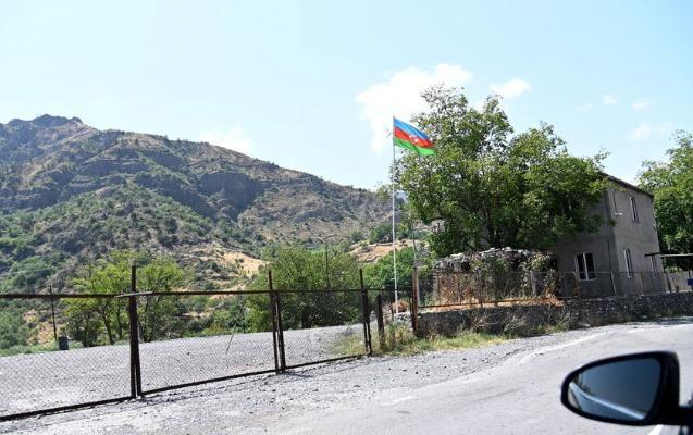 """Polis Gorus-Qafan yolunda İranın yük maşınlarını yoxlamağa başladı<b style=""""color:red""""></b>"""
