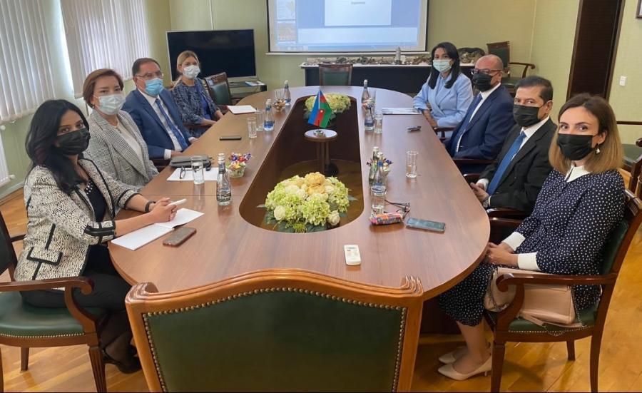 İƏT Ombudsmanlar Assosiasiyasının nümayəndə heyəti ANAMA-da olub