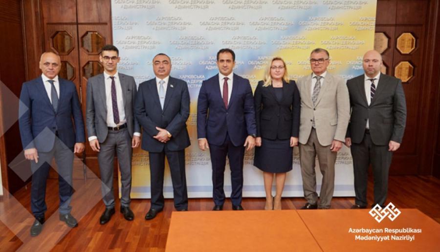 Xarkov Azərbaycanla mədəni əməkdaşlığı genişləndirmək istəyir