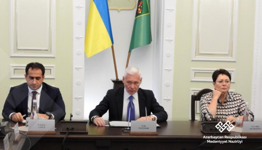Ukraynada Azərbaycan diaspor nümayəndələri ilə görüş keçirildi
