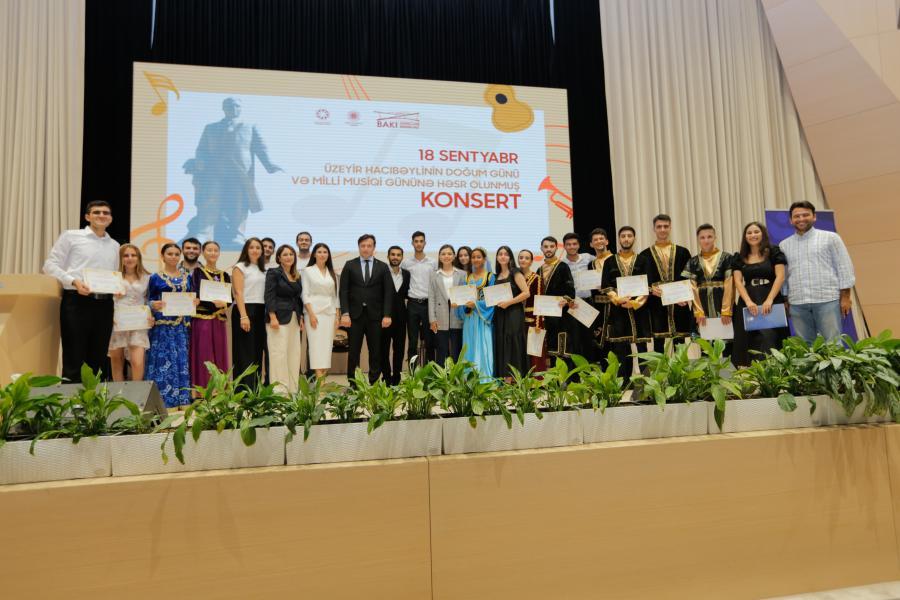 Milli Musiqi Gününə həsr olunmuş konsert proqramı keçirilib - Foto