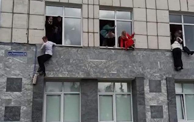 Rusiyada universitetdə atışma nəticəsində 8 nəfər ölüb, 19 nəfər yaralanıb- Yenilənib