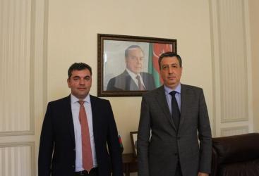 Azərbaycan ilə Gürcüstan arasında iqtisadi əlaqələr müzakirə olunub