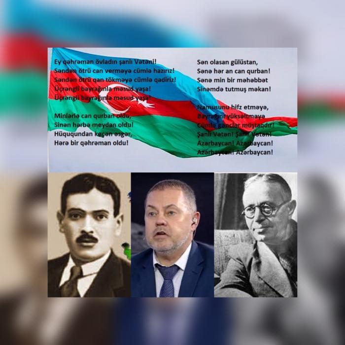 """""""Bu himn öz energetikası ilə bütöv bir imperiya üçün yetərlidir!"""""""